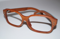 Holzbrille Model S