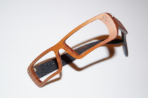 Holzbrille Model X