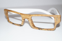 Holzbrille Model W